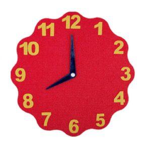 Игра-пособие для слабовидящих детей «Часы»