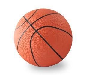 Мяч баскетбольный звенящий