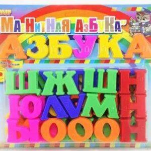 Набор букв «Магнитная азбука» (шрифт Брайля)