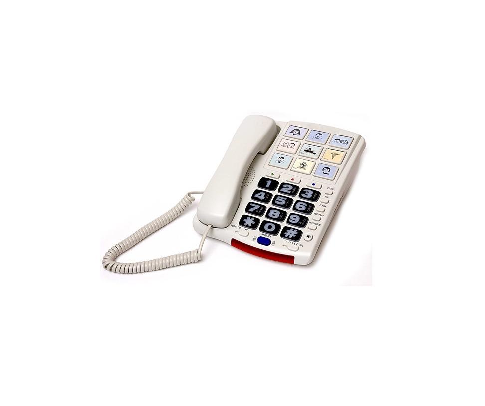 Телефон для глухих и слабослышащих людей