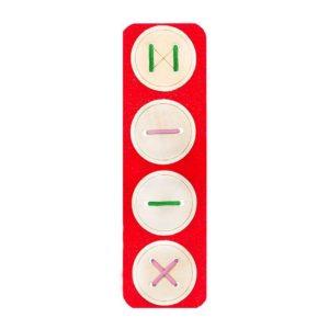 Игра-пособие для детей 3+ Пуговицы