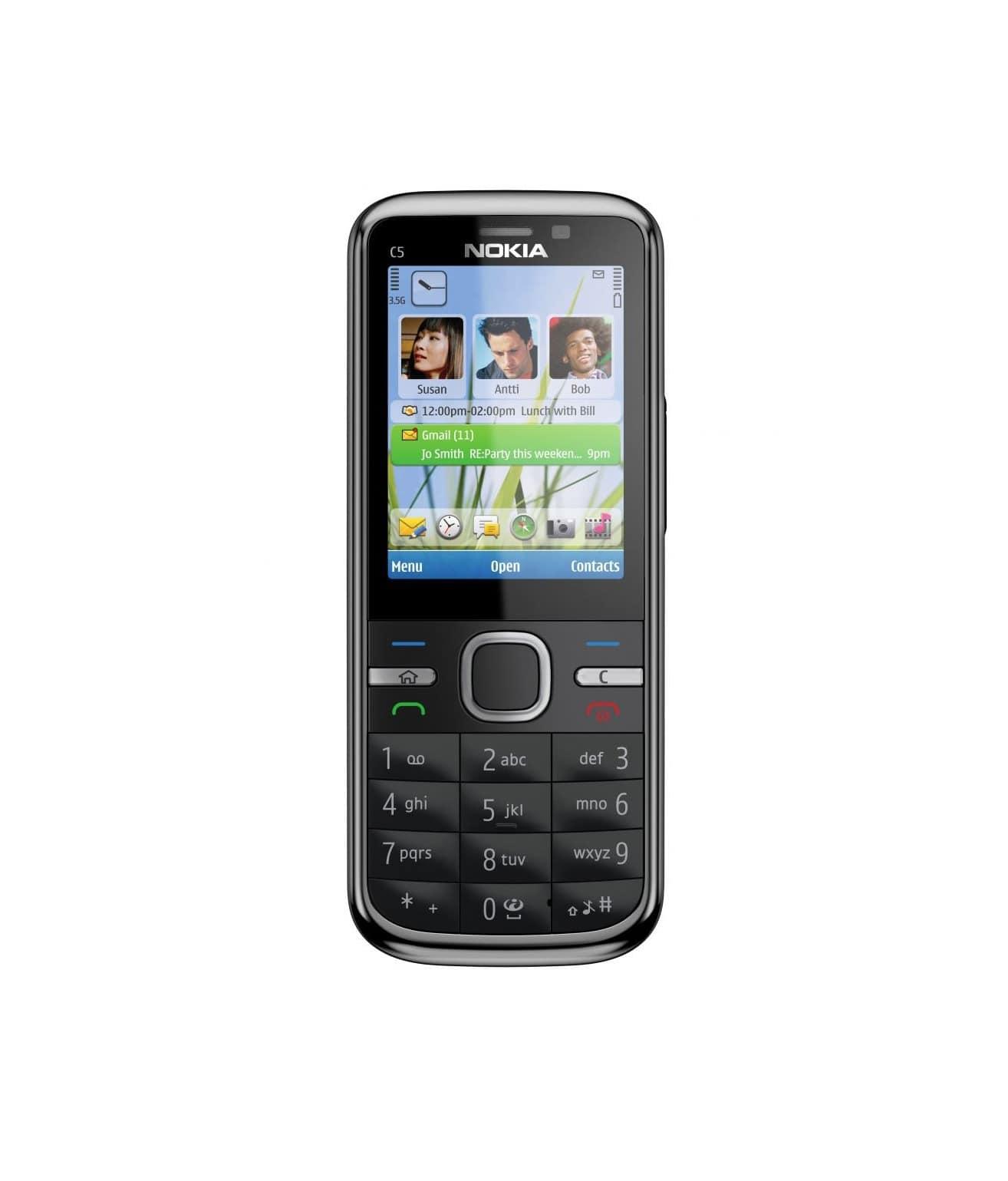Говорящий телефон для слепых Nokia