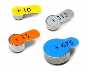 Батарейки для слуховых аппаратов всех типов