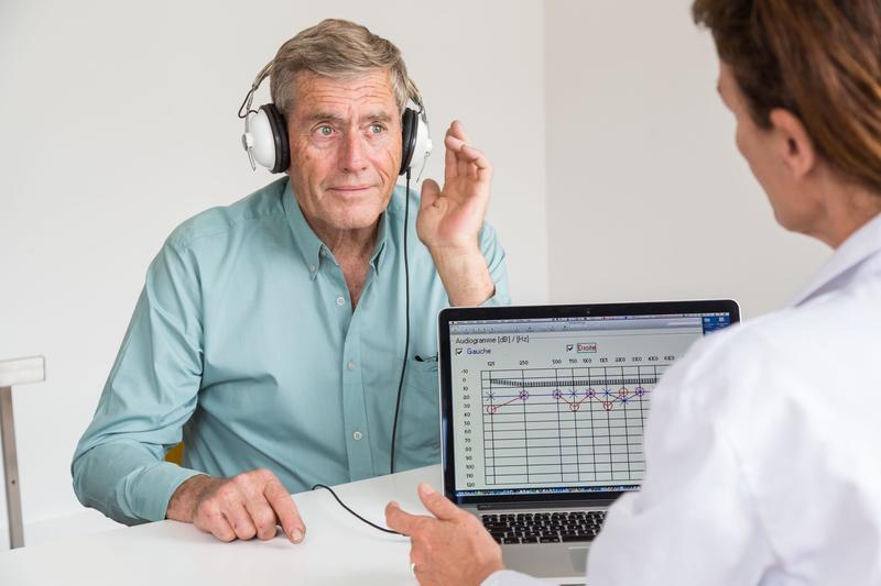 Измерения реального уха при подборе слухового аппарата